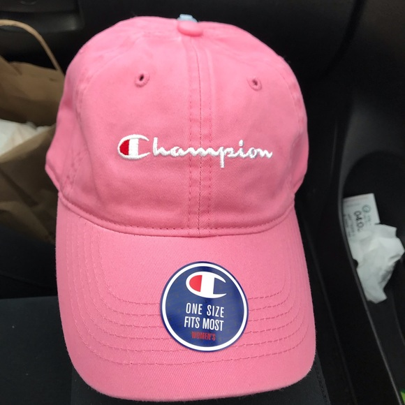 f5fd3f370fb0bd Champion Accessories | Pink Dad Hat Nwt Sold | Poshmark